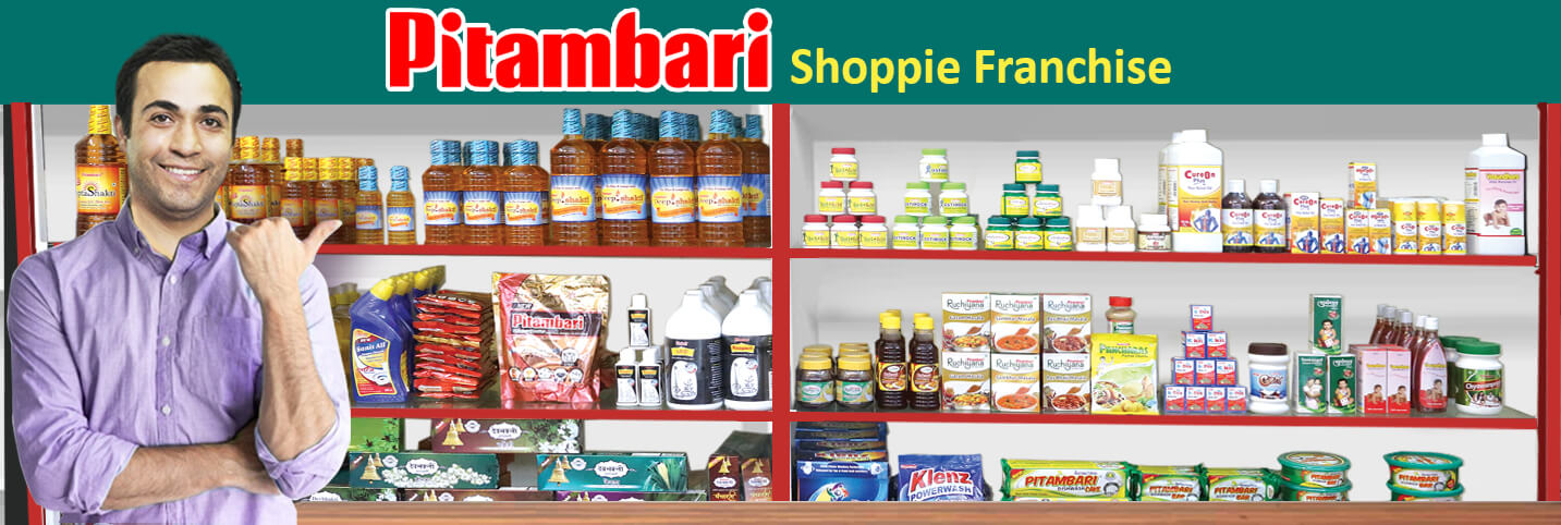 Pitambari Shoppie franchise