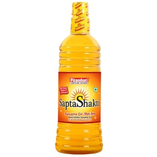saptashakti oil, sesame oil, cooking oil, edible oil